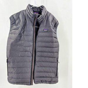 Patagonia Black Puff Vest Men Size Large